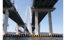 Tappan Zee Bridge old new span