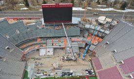University of Utah Stadium End Zone Expansion