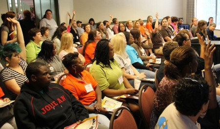Union Tradeswomen Gather in Sacramento to Plan Election Strategy