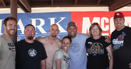 Clark/McCarthy Team Gets Down and Dirty at Camp Pendleton Mud Run
