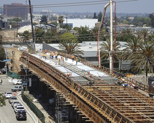 L.A. Light Rail Clears Hurdles Above and Below Ground