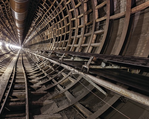 Sewer Tunnel Starts With Assembling a Kit of Parts