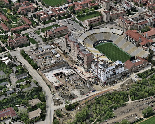 CU Athletic Facility Expansion Will Better Connect Sports Programs