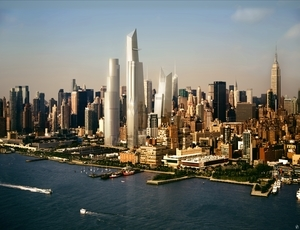 Hudson Yards Starts Work on First Building