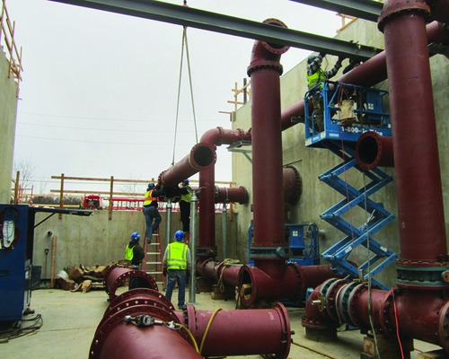 New $78-Million Water Treatment Plant Takes the High Ground