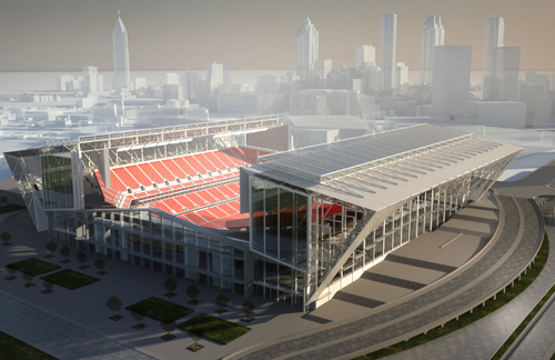 Atlanta Authority Hires 360 Architecture to Design Falcons Stadium