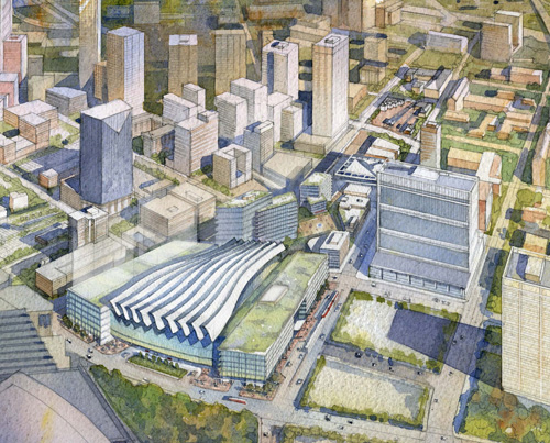 $1B Atlanta Intermodal Project Wins Federal Acceleration