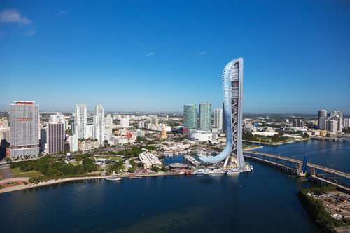 Contractors Get Ready to Build 1,000-ft Miami Observation Tower