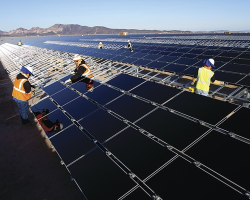 Power Builder First Solar Shines Bright