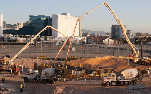Massive Observation Wheel Breaks Ground on Vegas Strip