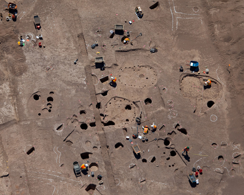 Archeological Discoveries Coexist With Construction at Pima County Project