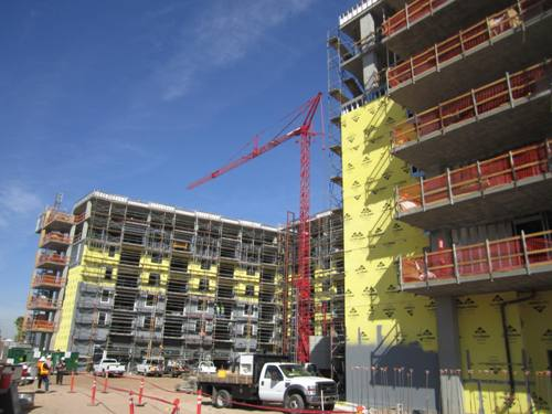 Project Team Tops Off Roosevelt Point Apartments in Phoenix