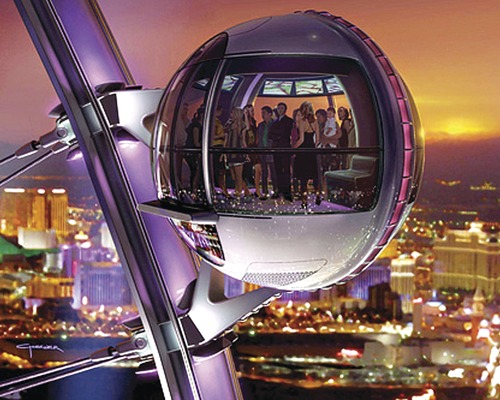 Las Vegas Observation Wheel Reaches Record Heights
