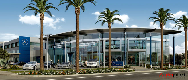 Mercedes-Benz of Scottsdale Renovates Office Building, Opens in Scottsdale