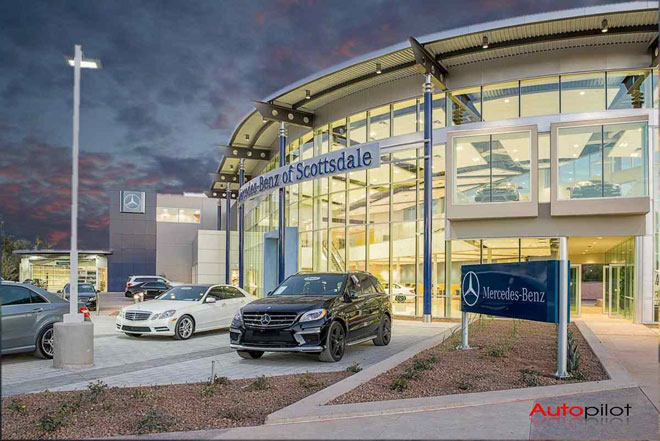 mercedes benz of scottsdale renovates office building