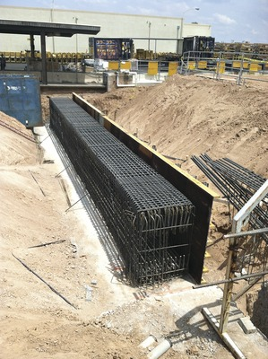 Empire Southwest Rebuild Facility Rests on Solid Caisson ...