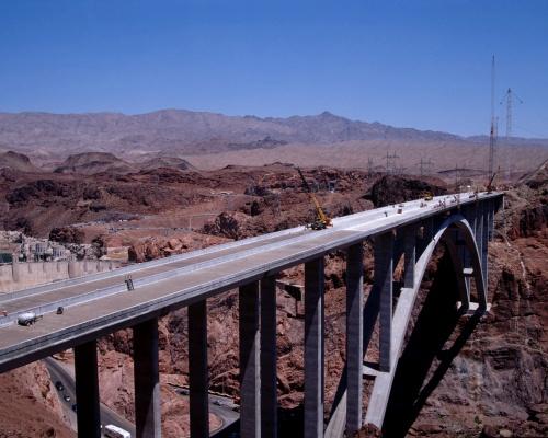 Hoover Dam Bypass Bridge Dedicated | 2010-10-19 | ENR