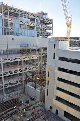 $1B Project Legacy Rises in Tight Quarters