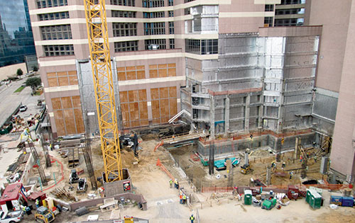 MD Anderson Pavilion Rises in Houston