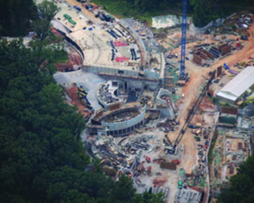 Constructing a Curvy Museum in an Arkansas Ravine
