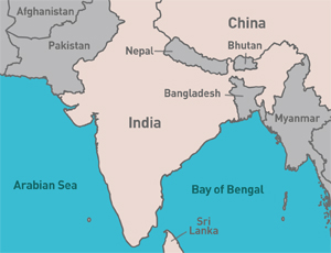 China and India Vie For Work in Surrounding Nations | 2012 ... on map hong kong, map india world, map india indus river, map india pakistan, map cambodia, map singapore, map india china, map india maldives, map india afghanistan, map india syria, map india himalayas, map india united states, map brazil, map malaysia, map australia, map india thailand, map india to japan, map india tibet, map india mauritius, map india bangladesh,