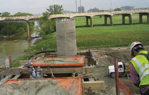 Soil, Steel Issues Slow Bridge Project
