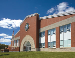 Though it originally targeted LEED Silver certification, Atlantic Hall No. 3 at the Great Lakes Naval Training Center, Great Lakes, Ill., actually earned the higher LEED Gold rating.