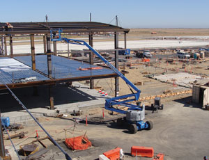 Turner Construction, along with Flatiron and Teichert, are the airside building contractors.