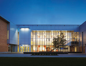 SmithGroup designed Los Angeles Harbor College's Technology Building.