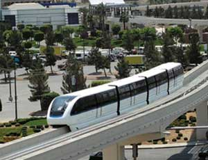 Las Vegas� Monorail a Bust, Just Five Years After Opening
