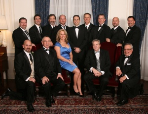 EUCA Board of Directors are, back row, from left, Rob Layne, Michael Ghilotti, Robert Purdy, Gregg Oxley, Christian Young, Don Cabianca, Steve Lydon, Danny Wood, Jr., and Mike McElroy; front row, from left, Andrew Vasconi, Bruce Adams, Nikki Affinito, Jerry Condon and Greg Gruendl.