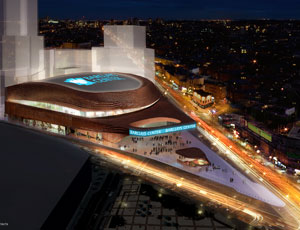 Barclays Center at Atlantic Yards Breaks Ground