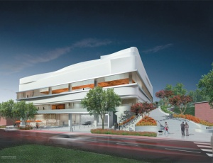 West Hollywood Celebrates Topping Out of New Library
