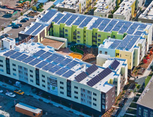 Solar-powered affordable housing complex opens in Oakland