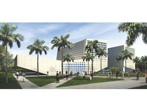 Suffolk Construction expects to complete Florida International University's School of International and Public Affairs building later this year.