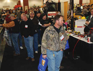 Despite the sluggish economy, attendance at the 2010 Conex Wisconsin/Northern Illinois trade show appeared to top last year's.