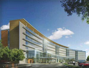 Turner Construction Co. is building the $447 million University Medical Center of Princeton at Plainsboro.