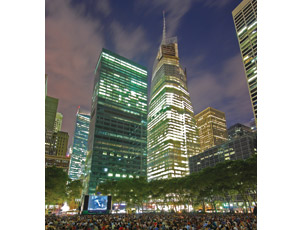 The Bank of America Tower at One Bryant Park in New York City is just one of the projects that received a Diamond award from the ACEC.