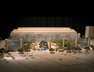 The Eisenhower Memorial Commission unveiled its preferred design concept by architect Frank O. Gehry, pictured here. The Eisenhower Memorial will be the first presidential memorial to be built during the 21st century, and only the seventh in U.S. history.