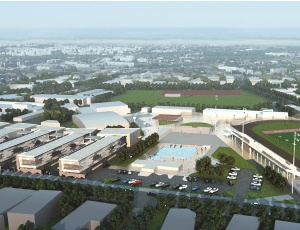 McCarthy Building Cos. Inc. has begun construction on 11 new educational buildings at Carlsbad High School in Carlsbad, North San Diego County.