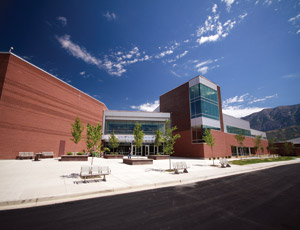 The new 223,000-sq-ft Orem High School is part of Alpine School District's $250-million bond passed by voters in 2006. It replaces the original Orem High School built in 1956.