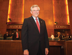 James Edmonds, recently re-appointed chairman of the Port Commission at Houston's Port of Houston Authority.