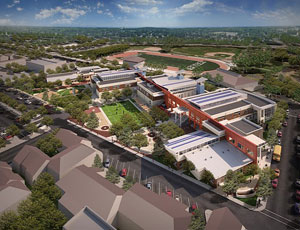 Work Now Underway on Oakland's Educational Complex