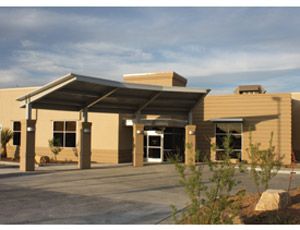 The recently completed Mimbres Memorial Hospital.