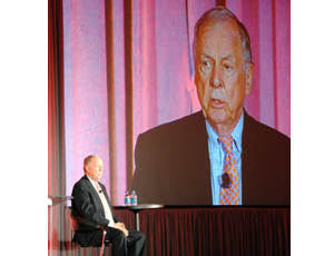 T. Boone Pickens Opens Sunbelt Builders Show in Grapevine