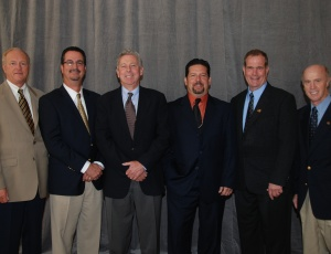 Top leadership of the AGC of California for 2010, elected by the State Board of Directors will include (left to right) AGC of California CEO Tom Holsman; Treasurer Curt Weltz, Flatiron West, Inc., Benicia; Senior Vice President John Nunan, Unger Construction Co., Sacramento; President Gerry DiIoli, Herzog Contracting Corp., Oceanside; Vice President Randy Douglas, Tierra Contracting, Inc., Goleta;; and Immediate Past President Bob Christenson, Panattoni Construction, Inc., Sacramento.