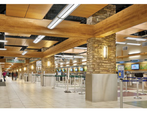 Reno-Tahoe International Airport Automated Baggage Check-in Project