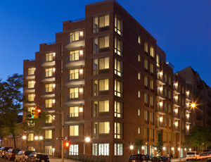 The General Colin L. Powell Apartments located in the South Bronx was awarded the Outstanding Affordable Housing award by the USGBC.