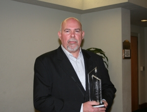 Nick Cloud of McCarthy Building Cos. is the recipient of the 2010 CEA Leadership in Safety Award.