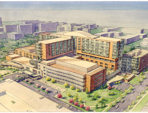 Expanded Care The 356,000-sq-ft addition to The Children's Hospital in Aurora, Colo., will be home to cancer care, heart and rehabilitation medicine and an advanced maternal/fetal medicine center.